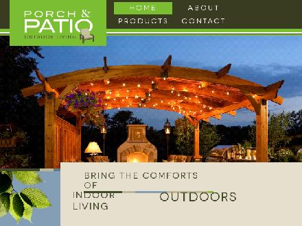 Porch & Patio (403-291-0235) - Website thumbnail - http://www.porchandpatio.ca