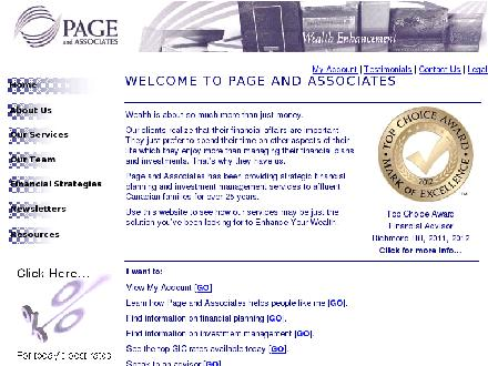 Page And Associates (905-884-5563) - Website thumbnail - http://www.askpage.com