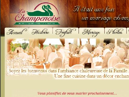 Restaurant La Champenoise (450-797-3516) - Website thumbnail - http://www.tablechampenoise.com