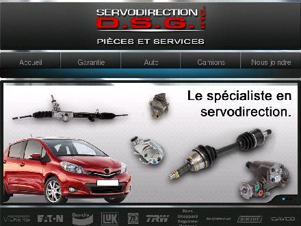DSG Servodirection Inc (418-800-7735) - Onglet de site Web - http://servodirection.com/