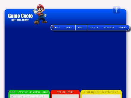 Game Cycle 2 (519-915-1097) - Website thumbnail - http://www.gamecycle.ca