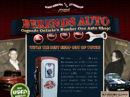 Berends Automotive (613-826-2304) - Onglet de site Web - http://www.berendsautomotive.com