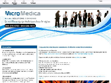 Microm&eacute;dica (1-866-549-5429) - Website thumbnail - http://micromedicasolutions.com/