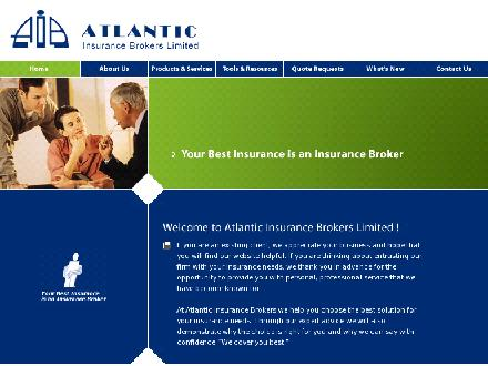 Atlantic Insurance Brokers Ltd (1-866-309-1951) - Onglet de site Web - http://www.atlanticinsurancebrokers.com