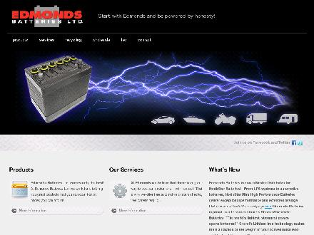 Edmonds Batteries Ltd (604-525-8144) - Onglet de site Web - http://www.edmondsbatteries.net
