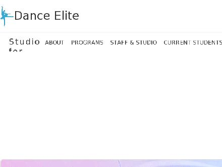 Dance Elite Studio For The Arts (905-878-5736) - Website thumbnail - http://danceelite.ca