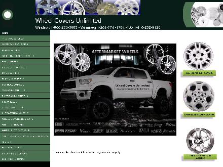 Wheel Covers Unlimited (204-774-1784) - Onglet de site Web - http://www.wheelcoversunlimited.com