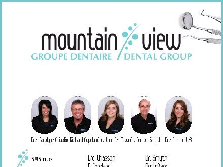 Mountain View Dental Clinic (506-802-7324) - Onglet de site Web - http://www.mountainviewdentists.ca