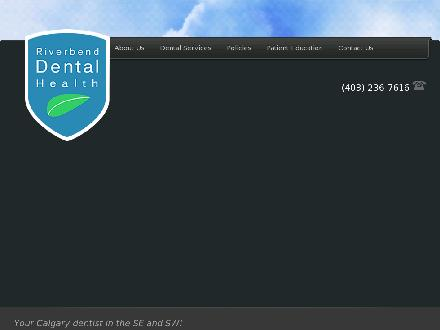 Riverbend Dental Health (403-236-7616) - Onglet de site Web - http://www.riverbenddentist.com