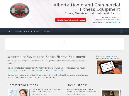Beyond The Basics Fitness Equipment Services Ltd (403-607-1376) - Onglet de site Web - http://www.beyondthebasicsfitness.com