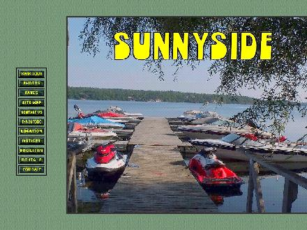 Sunnyside Campground & Cottages (613-273-3124) - Website thumbnail - http://www.sunnysidecampground.on.ca