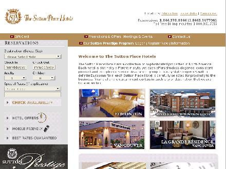 Sutton Place Hotel (780-428-7111) - Website thumbnail - http://www.suttonplace.com