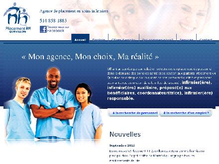 Placement RH Quevillon (514-858-1883) - Onglet de site Web - http://www.rhquevillon.com