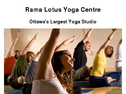 Rama Lotus Yoga Centre (613-234-7974) - Website thumbnail - http://www.ottawayoga.com