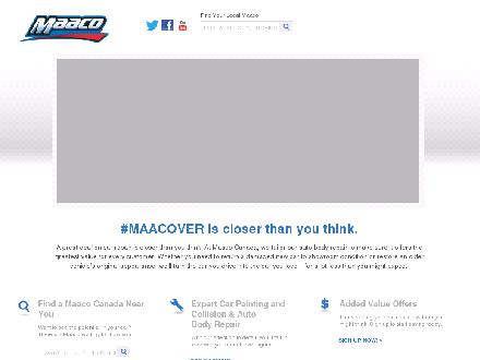 Maaco Collision Repair (807-622-7272) - Website thumbnail - http://www.maaco.ca