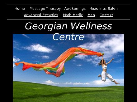 Georgian Wellness Centre (705-444-4736) - Website thumbnail - http://www.georgianwellness.com