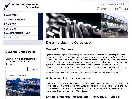 Dynamic Machine Corporation (204-982-4900) - Onglet de site Web - http://dynamicmachinecorp.com