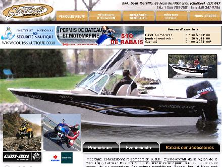 Boucher Germain Sports (450-347-3457) - Onglet de site Web - http://www.bouchersports.ca