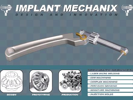 Implant Mechanix (604-899-8977) - Onglet de site Web - http://www.implant-mechanix.com