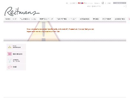 Reitmans.com - Onglet de site Web - http://www.reitmans.com
