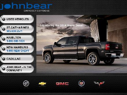 John Bear Buick GMC (905-934-2571) - Website thumbnail - http://www.johnbear.com