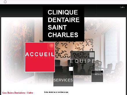 Clinique Dentaire Saint-Charles (450-999-1260) - Onglet de site Web - http://www.cliniquestcharles.com