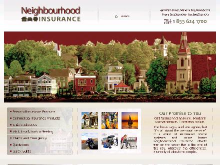 Neighbourhood Insurance (1-877-245-9263) - Website thumbnail - http://www.neighbourhoodinsurance.ca