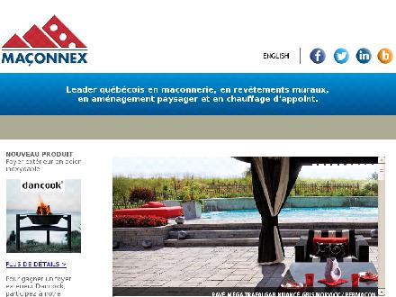 Ma&ccedil;onnex (819-539-6856) - Onglet de site Web - http://www.maconnex.com
