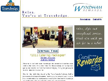 Strathmore Travelodge (403-901-0000) - Website thumbnail - http://www.travelodgestrathmore.com