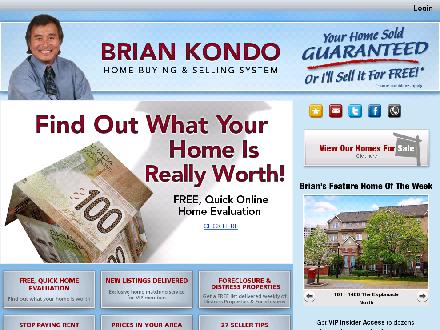 Kondo Brian - RE/MAX (905-683-7800) - Onglet de site Web - http://www.briankondo.com