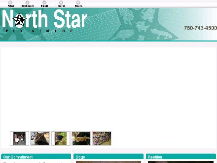 North Star Pet Centre (780-762-0250) - Website thumbnail - http://northstarpetcenter.com