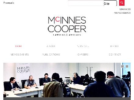McInnes Cooper (709-722-8735) - Onglet de site Web - http://www.mcinnescooper.com
