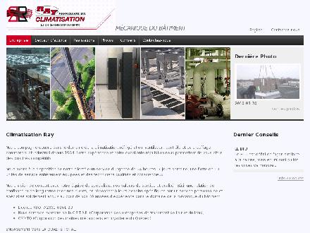 R&eacute;frig&eacute;ration Ray Inc (514-328-1803) - Onglet de site Web - http://www.climatisationray.com