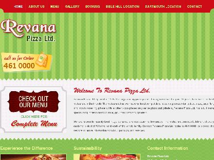 Revana Pizza Ltd (902-461-0000) - Website thumbnail - http://www.revanapizza.ca