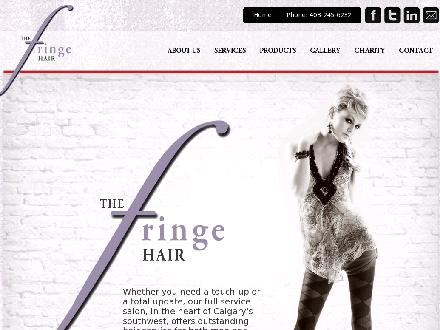 Fringe Hair Company The (403-245-6232) - Onglet de site Web - http://www.fringehair.com