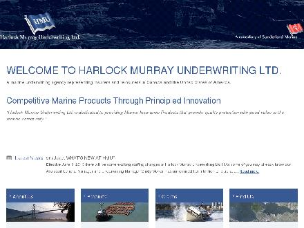 Harlock Murray Underwriting Ltd (604-669-7745) - Onglet de site Web - http://www.hmumarine.com