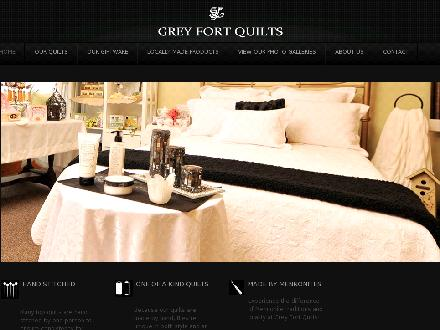 Grey Fort Quilts (519-664-2130) - Website thumbnail - http://greyfortquilts.com