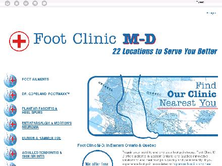 Clinique Du Pied M-D (PolycliniqueMédicale Argenteuil) (450-562-0075) - Website thumbnail - http://www.cliniquedupied-footclinic.ca/en