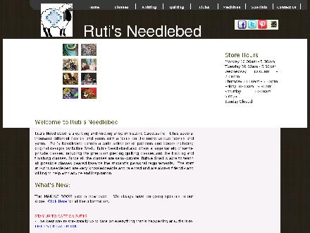Ruti's Needlebed (905-821-9370) - Website thumbnail - http://www.ruti.ca