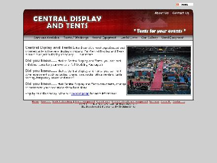 Central Display & Tents (250-561-7477) - Website thumbnail - http://www.centraldisplayandtents.com