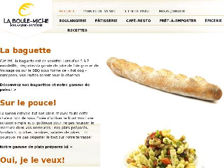 Boulangerie Patisserie La Boule Miche (418-688-7538) - Onglet de site Web - http://www.laboulemiche.com/