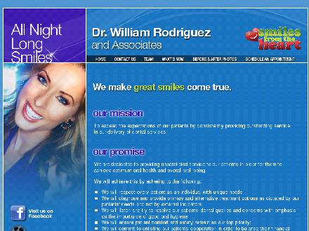 Dr William Rodriguez Dentistry ProfessionalCorporation (905-277-3088) - Website thumbnail - http://www.thesmilecentre.com