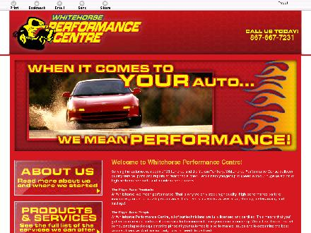 Performance Centre Whitehorse (867-667-7231) - Onglet de site Web - http://whitehorseperformance.com/