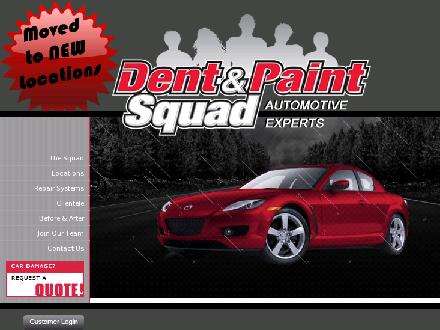 Dent Squad Ltd (403-547-4300) - Website thumbnail - http://www.dentsquad.ca
