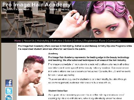 Pro Image Hair Academy Inc (705-735-2558) - Onglet de site Web - http://www.proimagehairacademy.com/