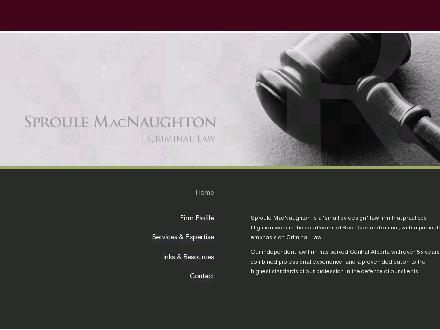 Sproule MacNaughton (403-340-1600) - Website thumbnail - http://www.sproulemacnaughton.com