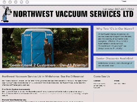 Northwest Vaccuum Service Ltd (867-667-7854) - Website thumbnail - http://northwestvaccuumservice.ca/