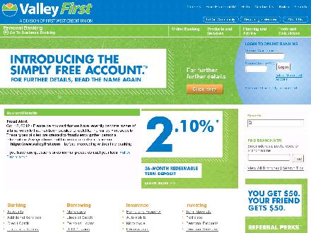 Valley First Insurance Services (250-861-5527) - Website thumbnail - http://www.valleyfirst.com