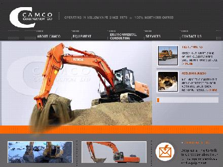 Camco Construction Ltd (867-873-8522) - Website thumbnail - http://www.camco-construction.ca