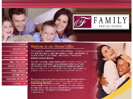 Family Dental Office (1-855-334-6073) - Onglet de site Web - http://www.familydentaloffice.ca